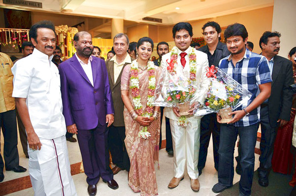 Udhayanidhi Stalin Wedding Photos