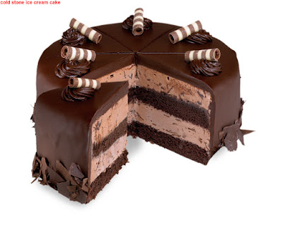 cold stone ice cream cake