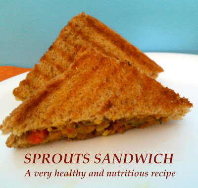Sprouts Sandwich Recipe