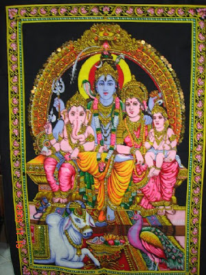 hindu god shiva family