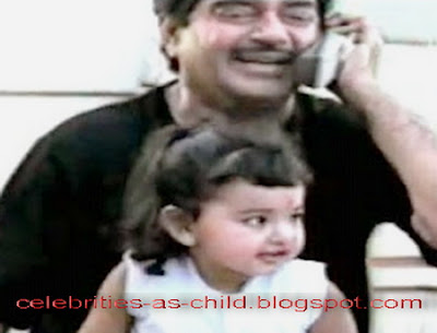Celebrities As A Child Sonakshi Sinha Childhood Pictures