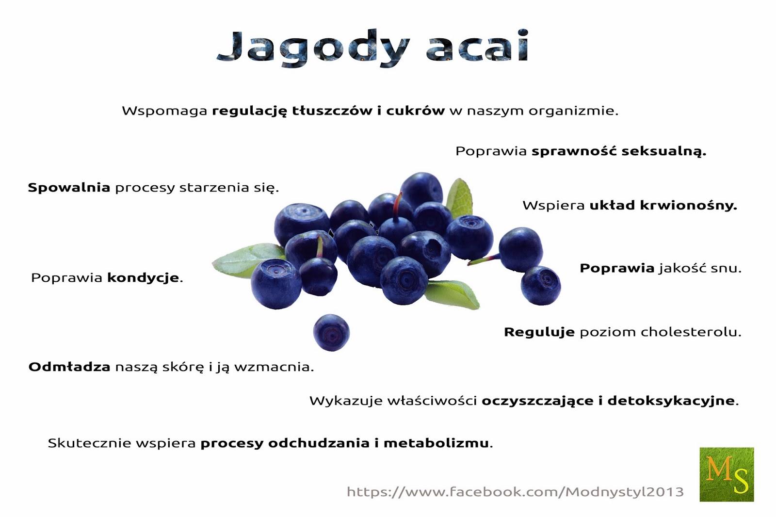 Jagody Acai i ich lecznicze właściwości!