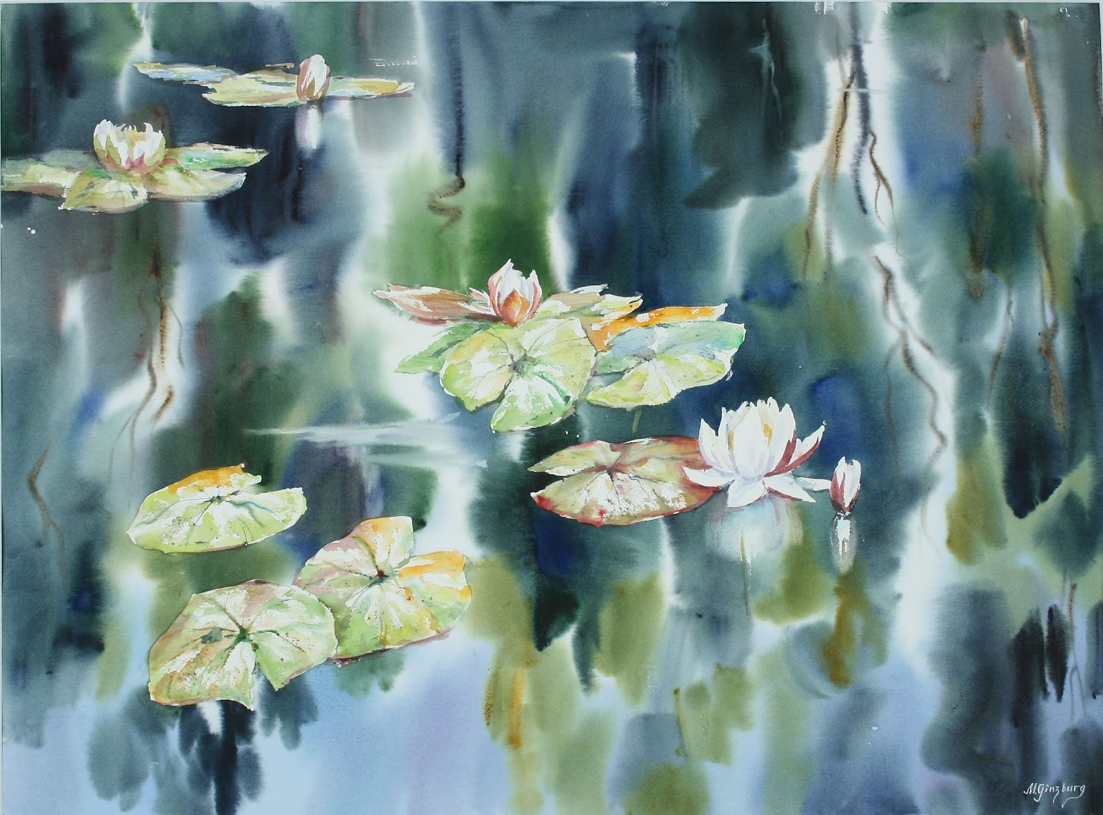 Art Of Watercolor: Maria Ginzburg. Interview.