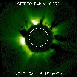 Llamaradas solares clase M, 18 de Agosto 2012