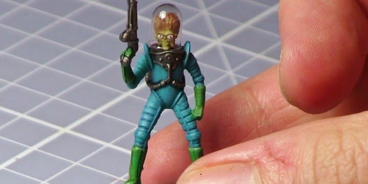 Tutorial: Mars Attacks Martian Painting Guide