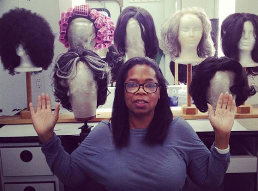 Oprah With No Makeup: Wigging Out on Set! » Gossip | Oprah Winfrey