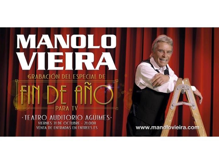 Manolo Vieira: grabación especial Fin de Año 2014