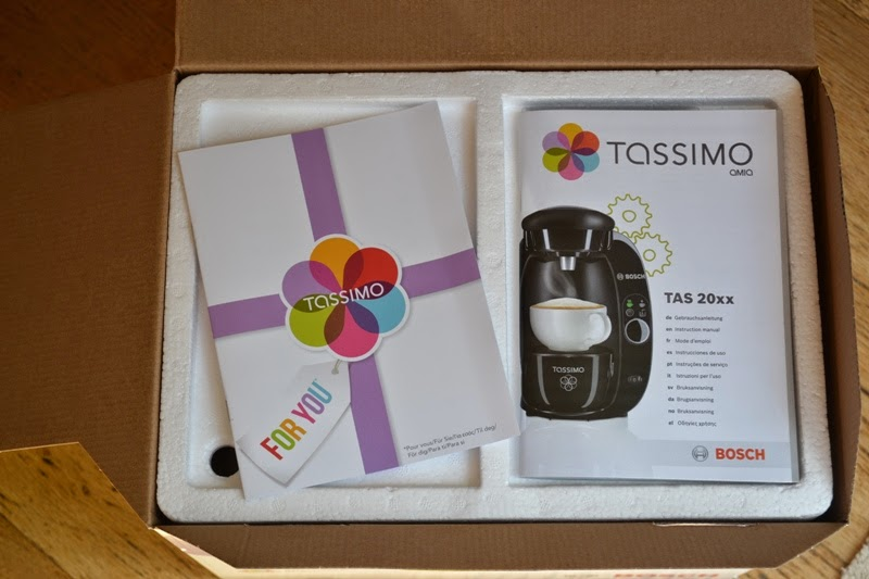 Vintage Peonies: T20 Tassimo Bosch Coffee Maker Review