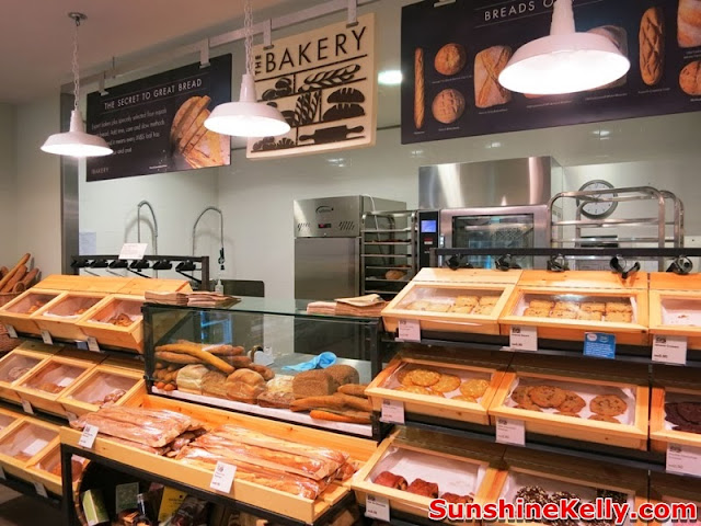 Marks & Spencer, Suria KLCC, shopping mall, kuala lumpur, eat at home, m&s bakery, bread, pastries, cakes
