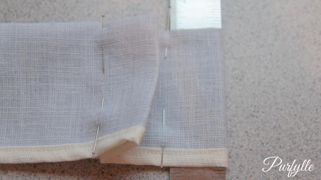 marking up box pleats the easy way