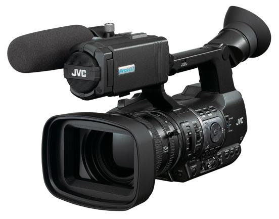 Cámara JVC GY-HM600
