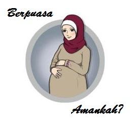 Wanita Ibu Hamil Berpuasa