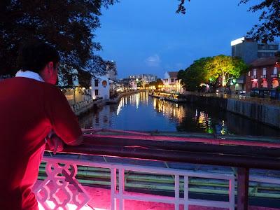 Malacca river, Asia