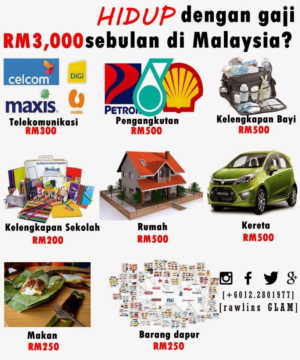 extra income, big bonus, miskin, miskin bandar, kaya, duit, mahal, GST, byrawlins, hanis haizi protege, GLAMpreneur2015