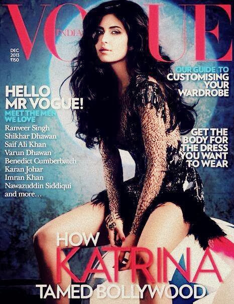 Katrina Tamed Bollywood: Katrina covers Vogue December issue