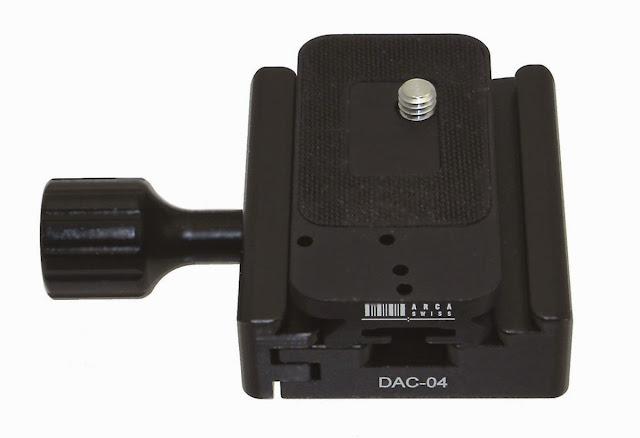 Desmond DAC-04 QR Clamp w/ Arca Slidefix camera plate