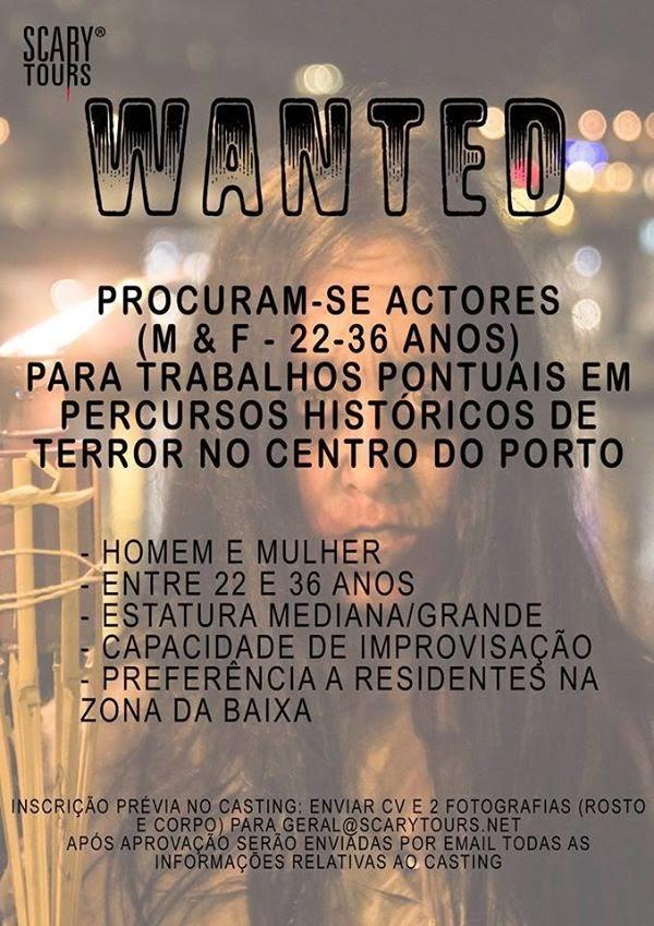 Procuram-se Actores e Actrizes – Porto