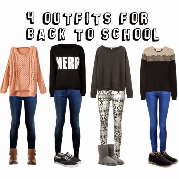 Inspired by Fashion u2665u2665 Come vestirsi a scuola? | Back to school outfits