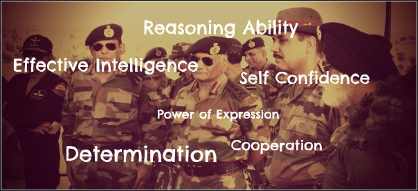 ssb officer like qualities