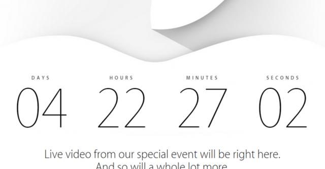 Apple bắt đầu đếm ngược sự kiện ra mắt iPhone 6