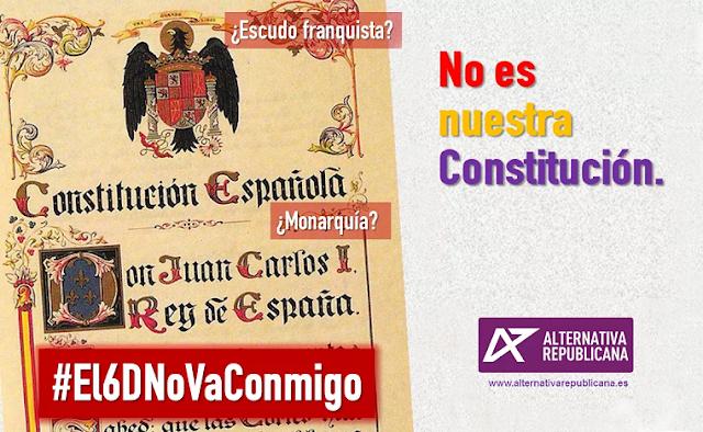NO ES NUESTRA CONSTITUCIÓN