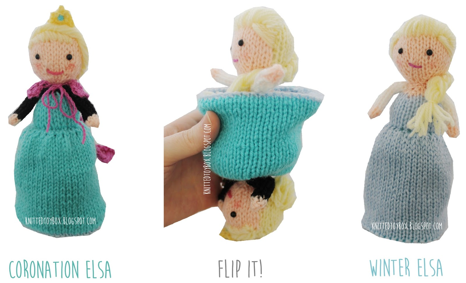 Knitting Patterns For Disney Toys : Knitted Toy Box