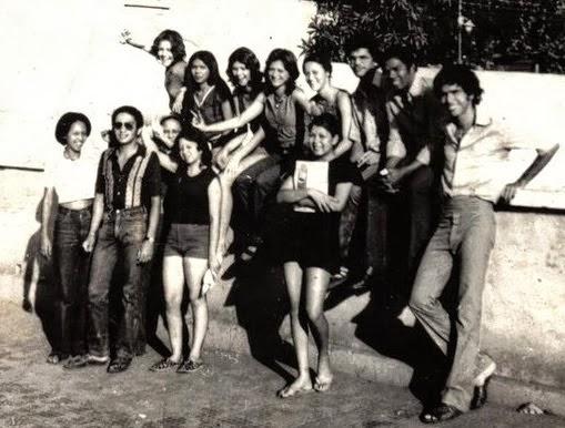 Jovens epitacianos nos anos 70