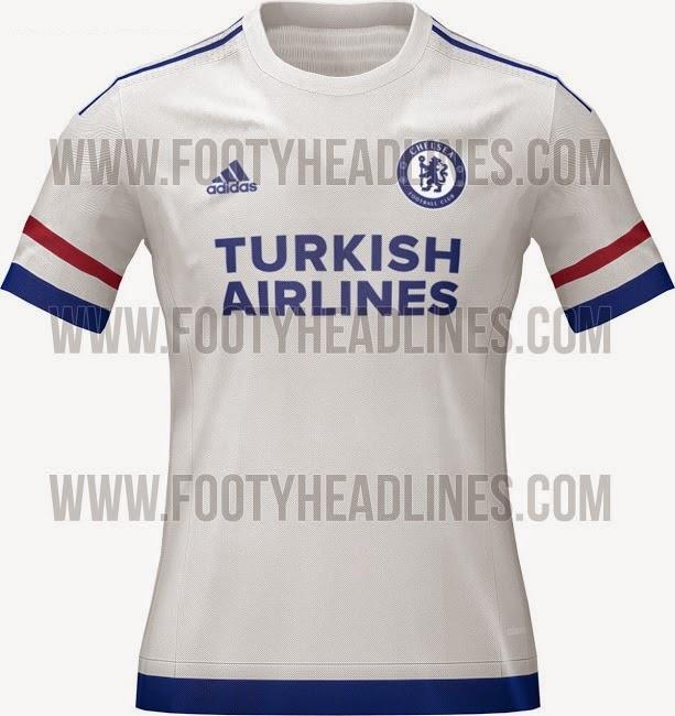 Chelsea 2015-06 away jersey