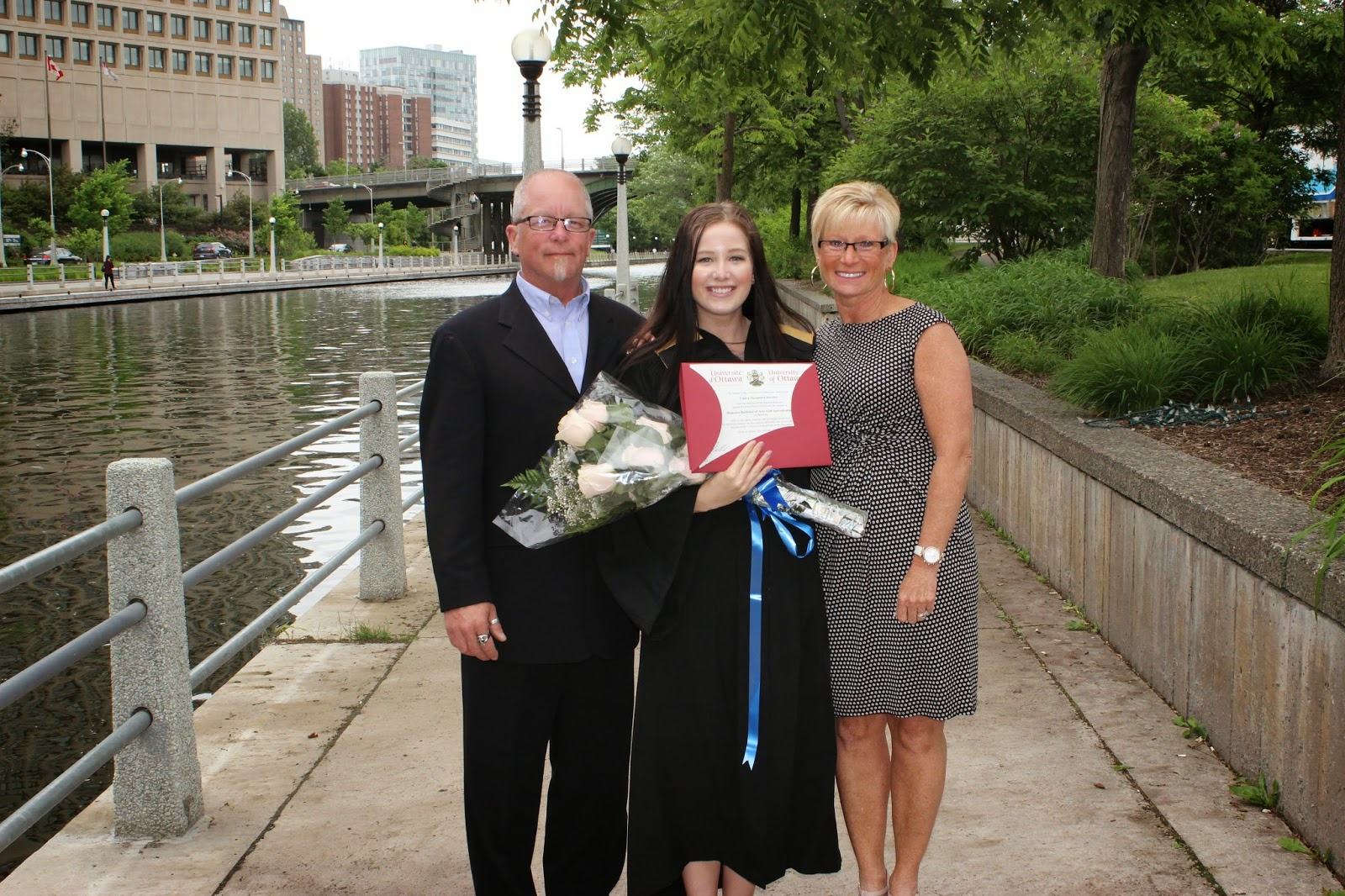 Graduation Ceremony with Parents