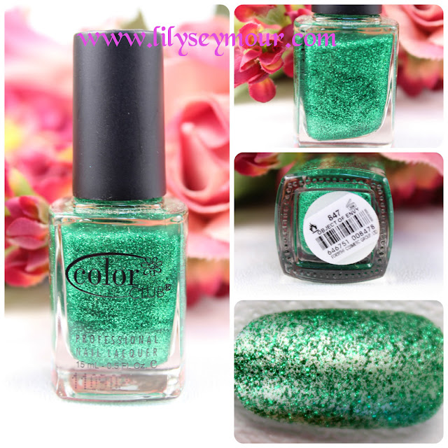 Color Club Object of Envy Glitter Nail Polish