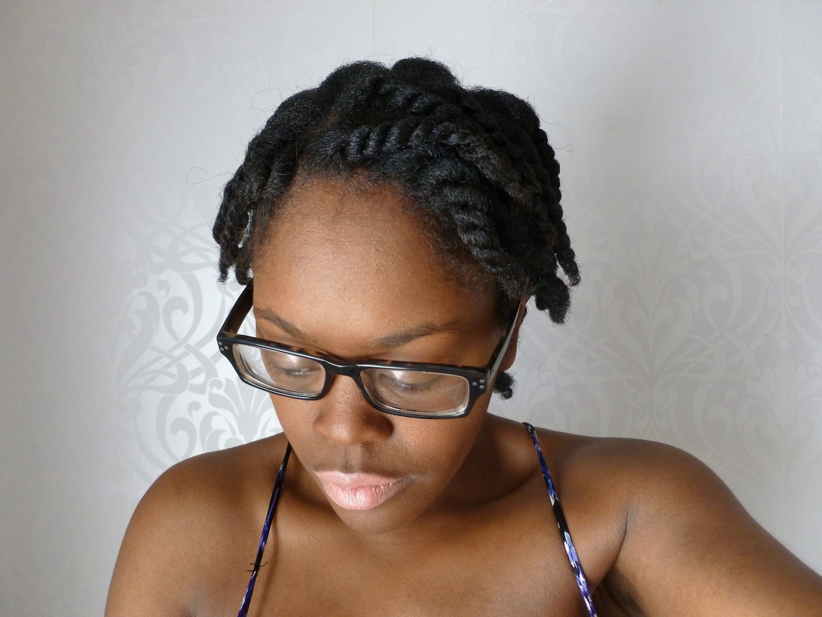 Chunky Two Strand Twists Natural
