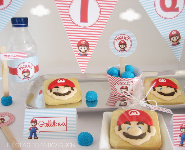 cupcakes decorados super mario