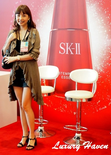 sk-ii stempower essence singapore changi airport event