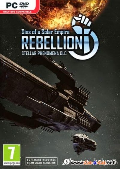 Download Game PC Sins of a Solar Empire: Rebellion Stellar Phenomena Full Version: