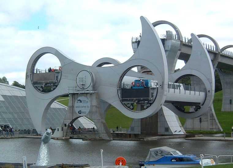 Falkirk Wheel, Skotlandia