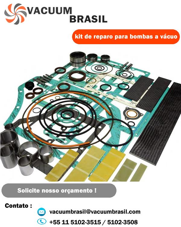 Líder no fornecimento de peças para bombas a vácuo do Brasil !