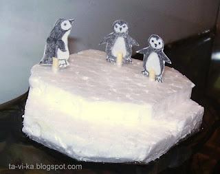 айсберг из пенопласта