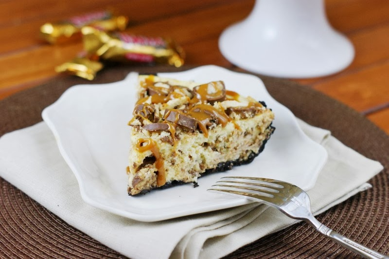 Twix Cheesecake Pie Recipe — Dishmaps