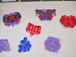 preschooler paint blob monster activity
