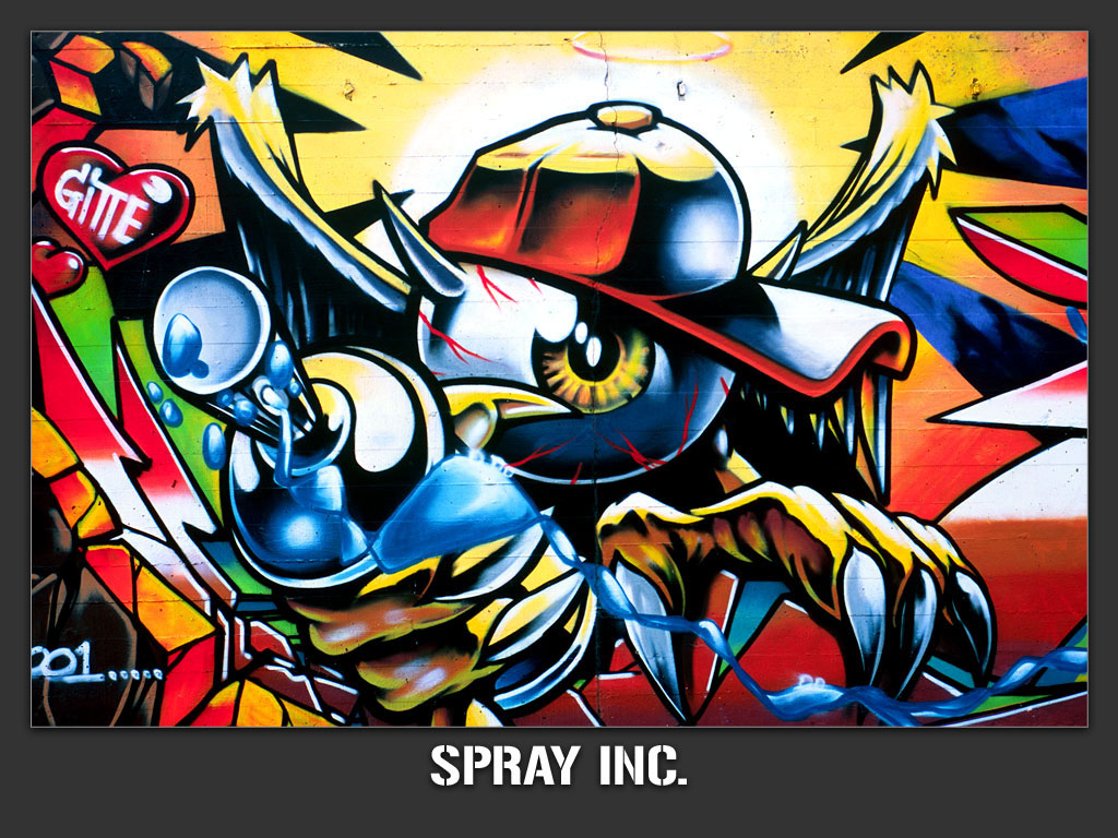Label: graffiti wallpaper