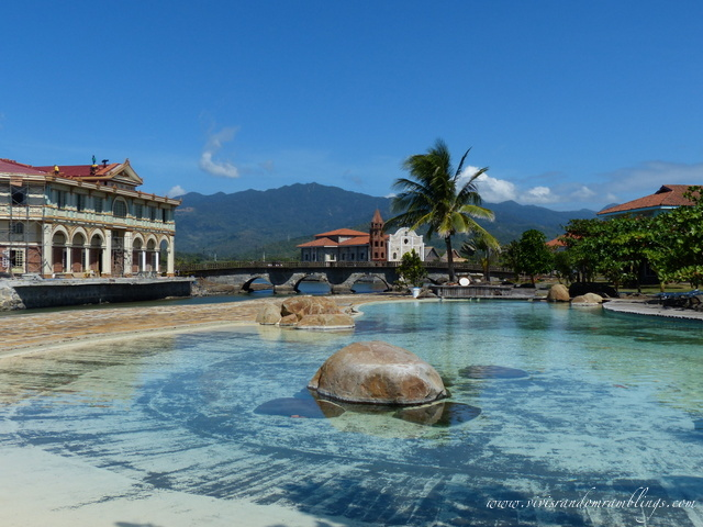 the batis inspired pool of Las Casas Filipinas de Acuzar, Bagac, Bataan