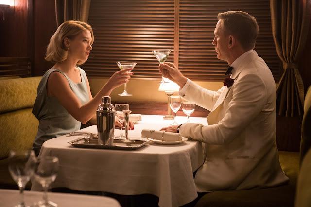 der cineast James Bond Spectre Martini