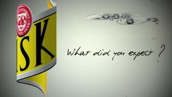 Les guignols parodie la pub Schweppes avec DSK