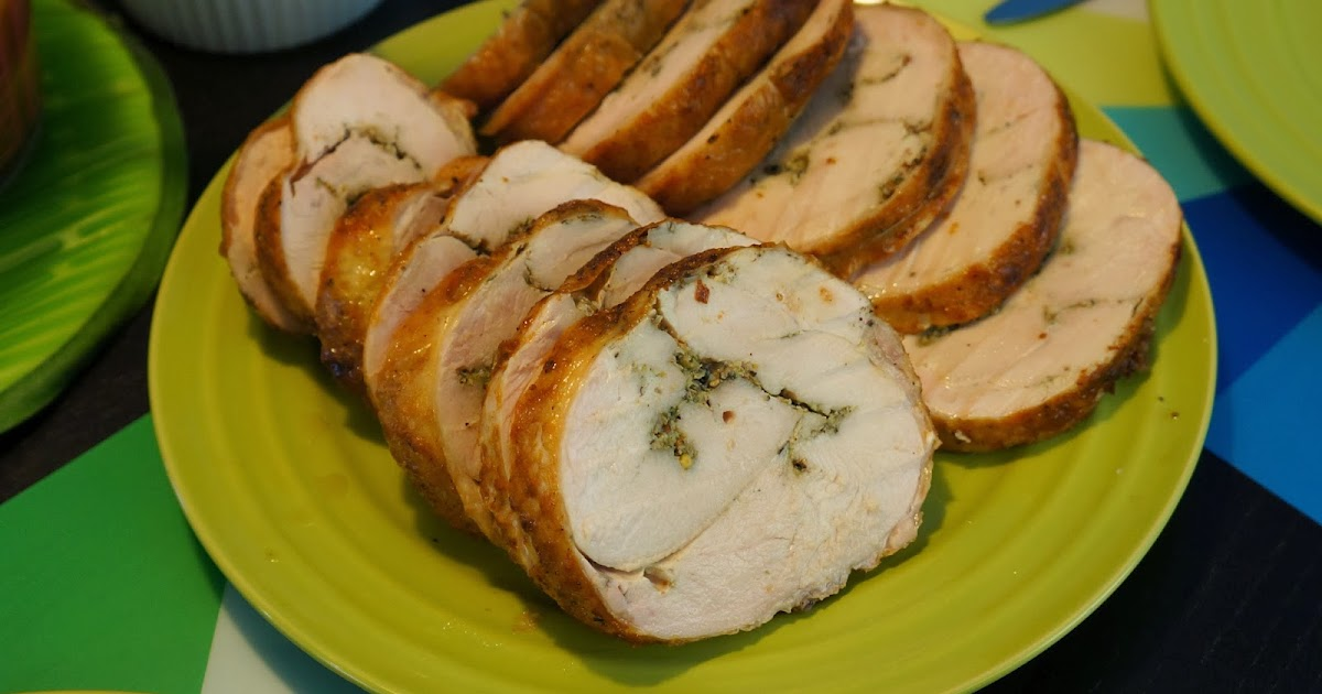 Cooking With Sahd Rolled Turkey Breast Porchetta