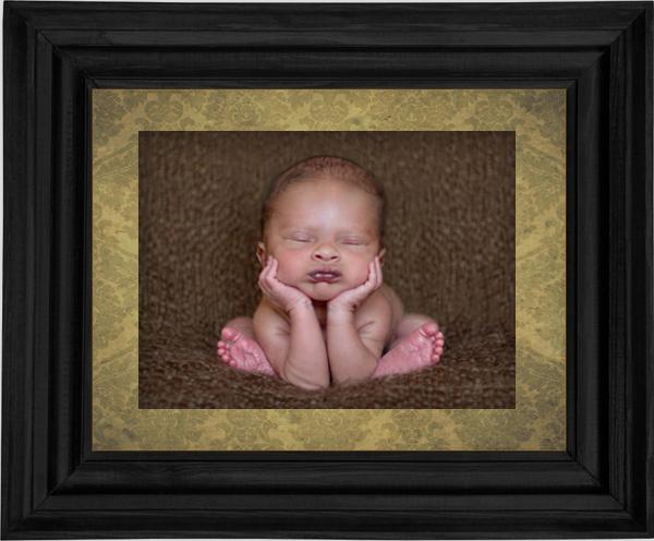 Make Perfect Newborn Baby Pose