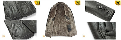 Genuine Sheepskin Coat for Men