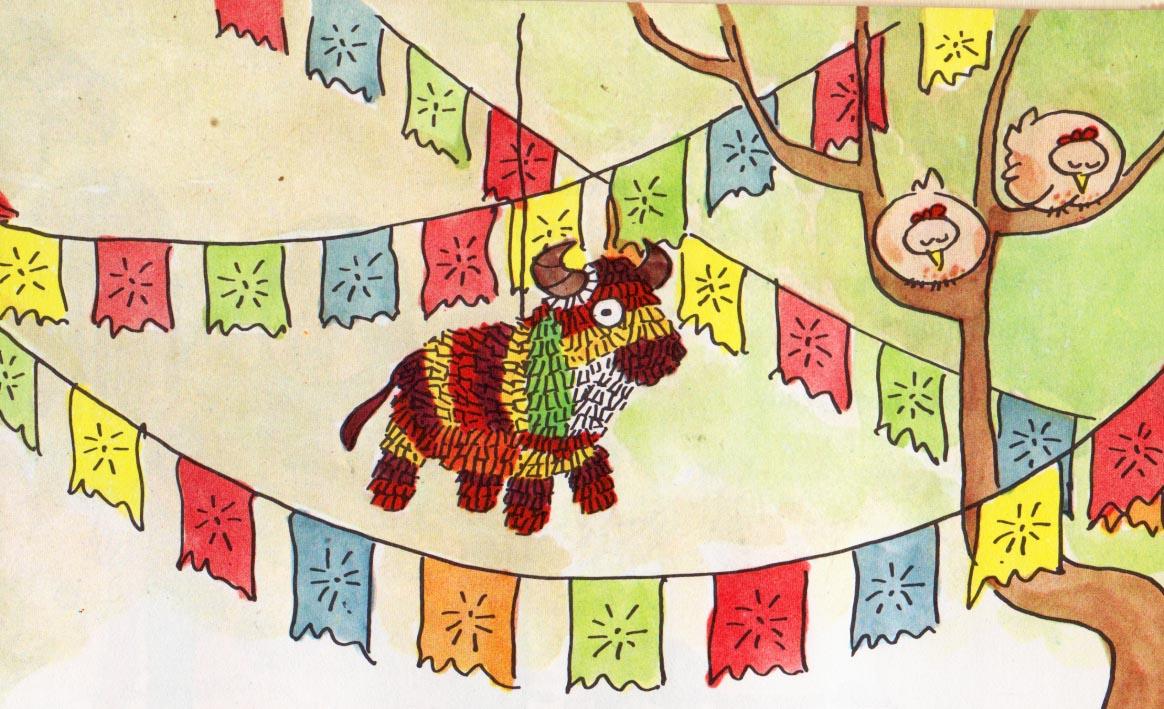 Vintage Kids\' Books My Kid Loves: The Christmas Piñata