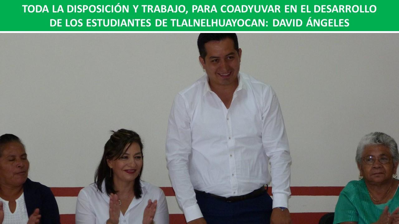 EL DESARROLLO DE LOS ESTUDIANTES DE TLALNELHUAYOCAN: DAVID ÁNGELES