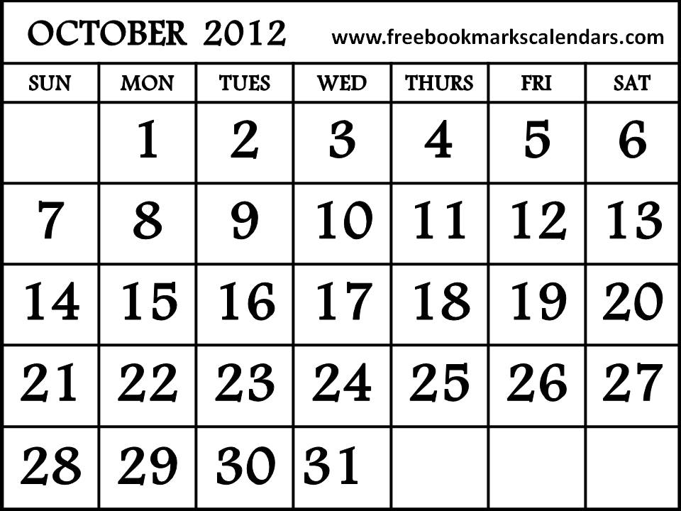 Free printable homemade 2012 Calendars and Planners on this website