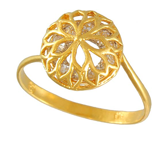 Stylish Jewellery Indian Gold Rings Designs For Girls
